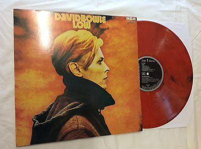 David Bowie - Low - coloured - Orange Marble Effect - Vinyl