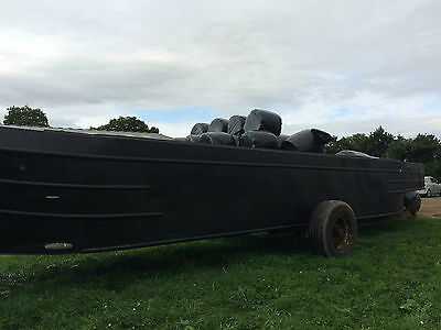 Narrowboat Hull With Lister Engine Project