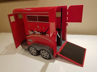 Breyer 2001 Traditional Red Horse Trailer #2611