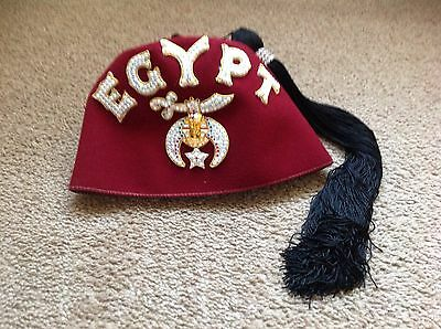 egypt shriner masonic fez freemason