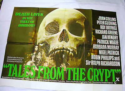Tales From The Crypt   Original UK Quad Poster