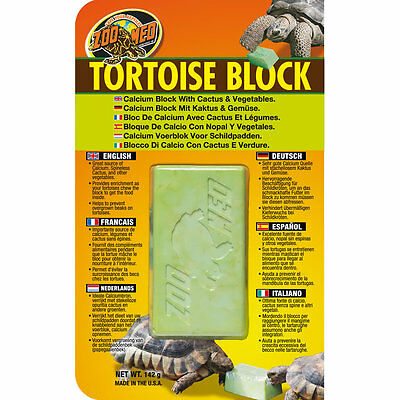 Zoo Med Tortoise Block Enrichment Beak Maintenance
