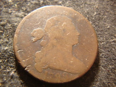 1798 Draped Bust Large One Cent Penny United States Antique One Cent Coin!