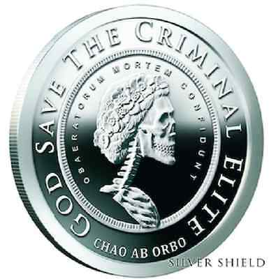 2016 Slave Queen Grateful Death #6 of Series Silver Shield - Rare 900 Minted
