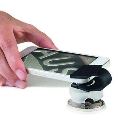Lighthouse Phonescope turns Smart Phone into 60x Magnifier
