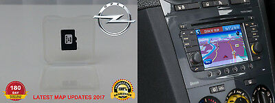 Genuine Vauxhall/opel Touch&connect Navigation Update 2017 Micro Sd Card V7 Map