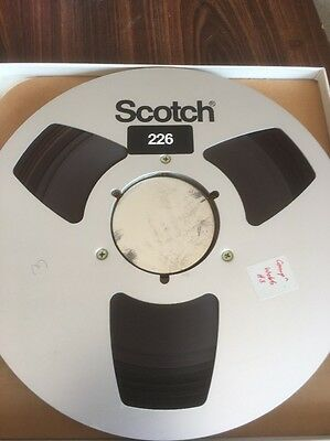 Scotch 226 Audio Recording Tape And Reel