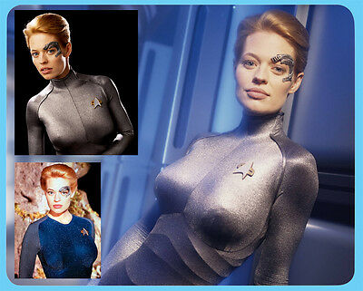 Jeri Ryan Seven of Nine 7 of 9 Star Trek Voyager mouse mat