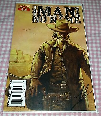 Man With No Name #9 Homs Variant Cover Signed by Luke Lieberman MINT COA RARE
