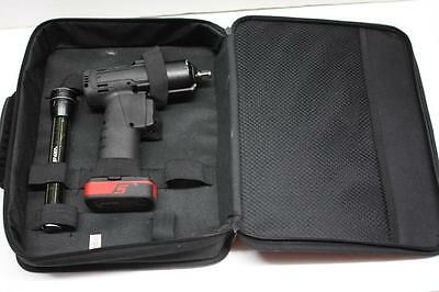 """Snap On CT761 14.4V Micro Lithium 3/8"""" Drive Cordless Impact Wrench Tool Set"""