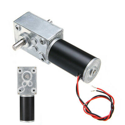 DC 12V 160RPM Reversible High Torque Turbo Worm Geared Electric Reduction Motor