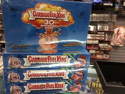 2015 GARBAGE PAIL KIDS Topps 30TH ANNIVERSARY Series COLLECTOR EDITION BOX *NEW*