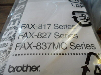 brother FAX-827S Plain Paper Fax