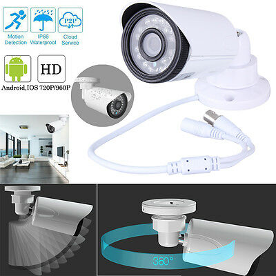1.3MP 960P HD IR Security Video Camera IP66 3.6mm Wide Angle Color Cmos Outdoor