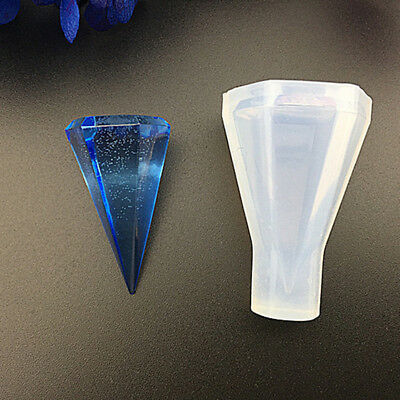 Professional Silicone Jewellery Making Cone Shaped Mould Pendant Mold Art Craft
