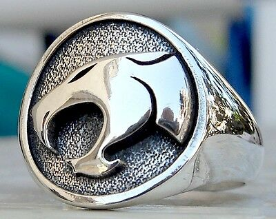 Solid Sterling Silver 925 Thundercat 3D Ring All Size