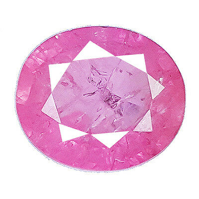 Exclusive 5.95 Ct Oval Shape Stunning Pink Sapphire (Lab Created Chathum)