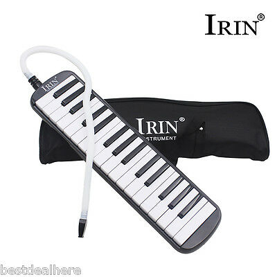 IRIN Portable 32 Piano Key Melodica Student Harmonica Music Instrument with Bag