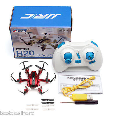 JJRC H20 2.4G 4 Channel 6 Axis Nano RC Hexacopter Drone RTF RC Quadcopter Gift
