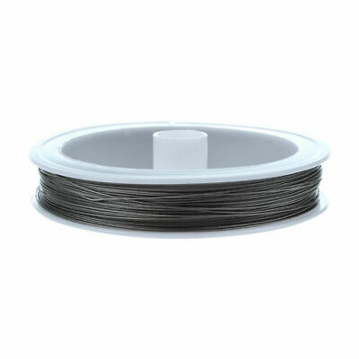 Tigertail Beading Wire - 90m / 0.45mm / Silver F6