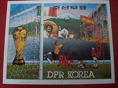 Asia - 1986 World Cup - Minisheet - Unmounted Used - Ex. Condition