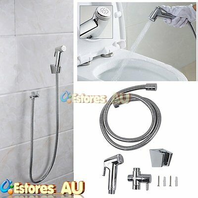 Hand Held Shower Head Douche Bidet Toilet Clean Wash Toilet Seat Spray Set【AU】