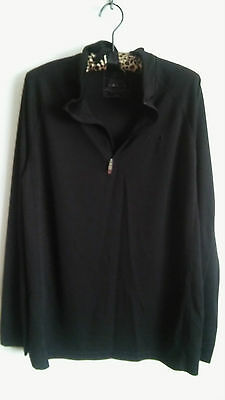 *USED* CRANE Trail - Black Long Sleeve Cycling Top - Size M