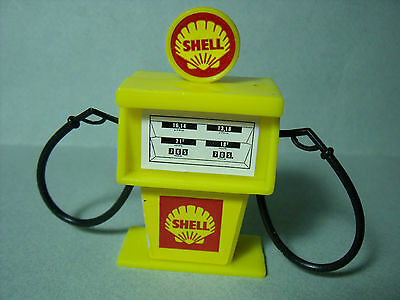 Pompe  A  Essence  Shell   Pour  Garage  Station   Sio   Depreux   Vroom   1/43