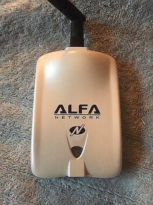 Alfa Network AWUS036NHR -USB Adapter, 150Mbps, 802.11b/g/n, RP