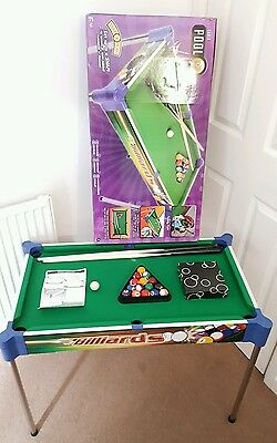Click and Play 32 Inch Kids 2-in-1 Pool Table.
