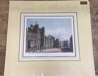 Mounted Prints Of  London Oxford Soho Guaranteed Over 100 Years Old From 1813