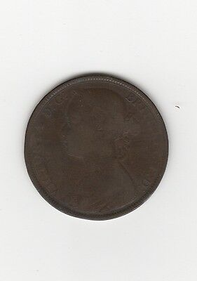 1883 Great Britain Penny Bronze UK