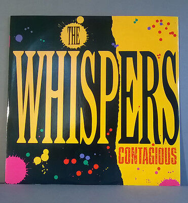 """The Whispers - 12"""" - Side A: Contagious - Side B: Keep Your Love Around (1984)"""
