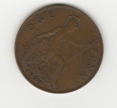 UK / Great Britain 1929, 1 Penny