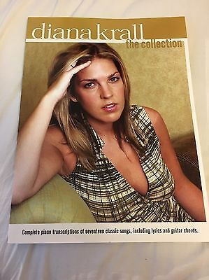 Diana Krall - The Collection Book - 17 Songs Transcribed For Piano, Vocals And G