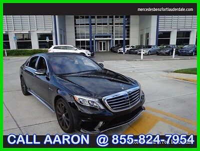 2014 Mercedes-Benz S-Class WE SHIP, WE EXPORT, WE FINANCE 2014 S63 AMG 4MATIC Used Certified Turbo 5.5L V8 32V Automatic All Wheel Drive