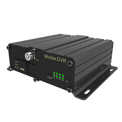 3G 4G Vehicle DVR Recorders 4CH HD1 Realtime Recording MDVR with GPS Function