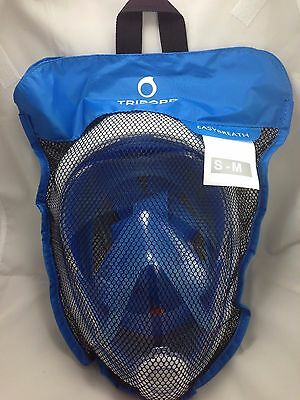 NEW 2016version S/M BLUE-Tribord Easybreath snorkeling mask SHIP FROM GEORGIA US
