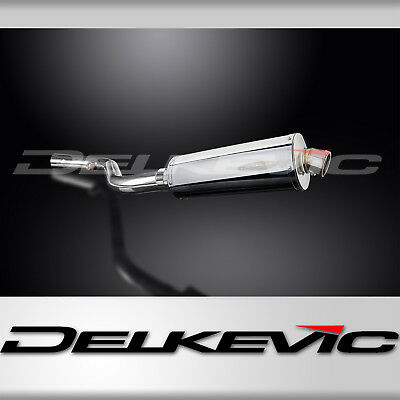 Oval 350mm Stainless Steel Exhaust Slip-on Silencer BMW R1150 RT 2001-2005