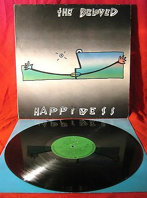 """The Beloved - Happiness LP. 12"""" Vinyl 1990 German Press - Electronic/House"""