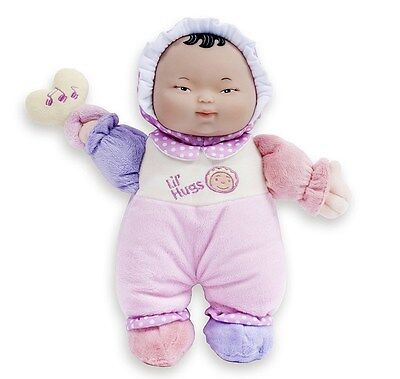 Asian First Baby Pink Soft Body Doll, Lil' Hugs, Berenguer Play toy for Ages 0+