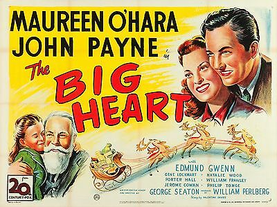 "The Big Heart 16"" x 12"" Reproduction Movie Poster Photograph"