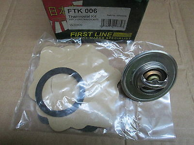 Ford Escort Fiesta Courier Thermostat Kit  First Line Ftk 006
