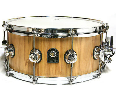 """Natal Pure Stave 14"""" x 5.5"""" Ash Snare Drum"""