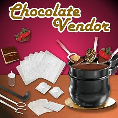 Chocolate making set - melting pot, moulds, utensils - Chocolate vendor