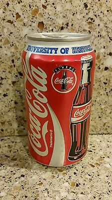 1996 University of KY UK Coca-Cola FULL Aluminum Can Collector