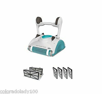 Maytronics Dolphin Neptune Plus DX4 Robotic Pool Cleaner 2 Yr Warranty NEW