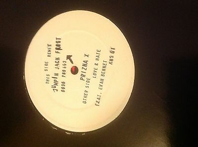 "Prizna X-Love and Hate Jumping Jack Frost Remix 12"" Vinyl 1992 Hardcore Jungle"