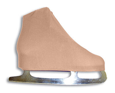 A&R Universal Figure Skate Cover Lycra Stretch Ice Skate Boot Cover Toast 5 SCT