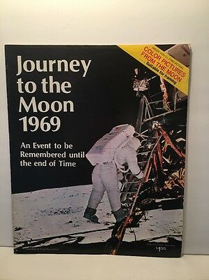 1969 JOURNEY TO THE MOON Tandy - Astronaut Apollo Armstrong Kennedy Space Photos